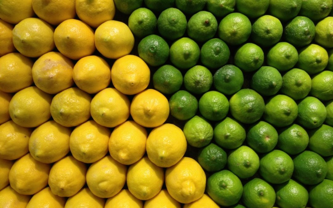 Lemon and Lime Essential Oils