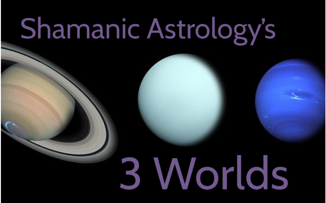 Keeping Sane with Shamanic Astrology's 3 Worlds